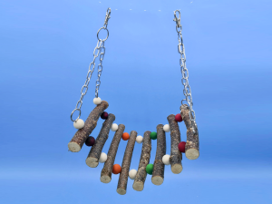 hanging bead bridge