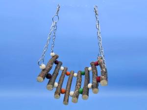 hanging bead bridge