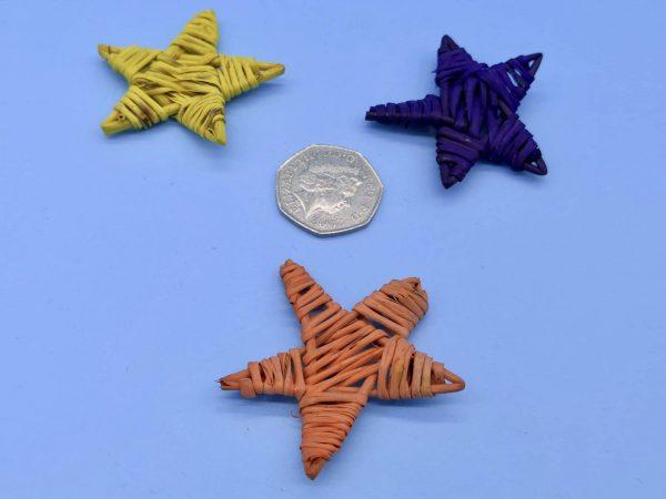 mini stars size