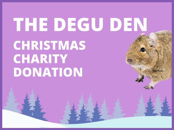 Degu den donation